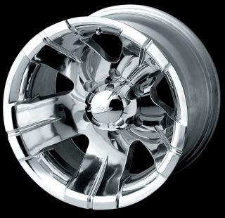 17 x 10 ion Alloy Suburban Avalanche Savana Polished Wheels Rims