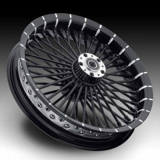 Custom 21 Fat Spoke Wheel Set for Harley