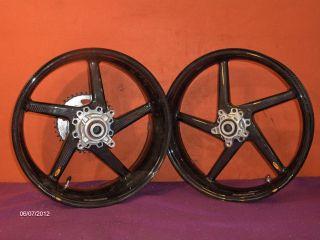 Carbon Fiber BST Wheels for zx14 06 2011