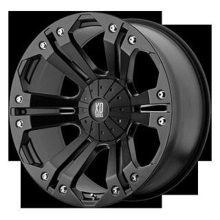 18 Wheels Rims XD Monster Matte Black with 285 65 18 Nitto Terra