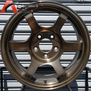 16x8 Rota Grid Offroad Wheels 4x100 Rims ET10MM Sport Bronze 56 1mm