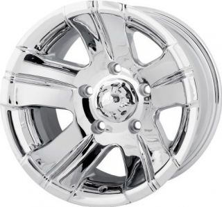 ION ALLOY 5X5 CHROME CHEVY TAHOE SUBURBAN EXPLORER YUKON WHEELS RIMS
