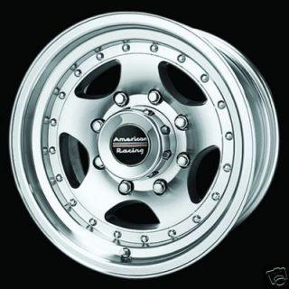 16 Inch WHEELS 16x8 Rims 6 LUG 6x5 5 AR23 Chevy Suburban Silverado GMC