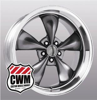17x8 Bullitt Replica Silver Wheels Rims 5x4 50 Pattern for Ford