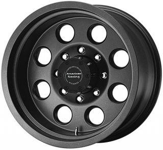17 inch 17x8 ATX Mojave Black Wheels Rims 6x5 5 6x139 7