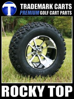 12x7 Storm Trooper Golf Cart Wheels and 23 All Terrain Tires