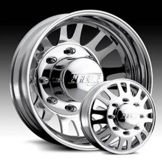 19 5 Eagle 056 Polish Wheels Tires Package 6 Wheels Tires 8x6 5 8 Lug