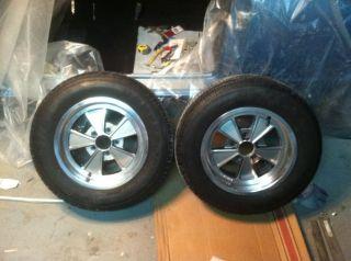 Cragar Eliminator Wheels Rims Mopar Ford Shelby Fenton Mags 15x7