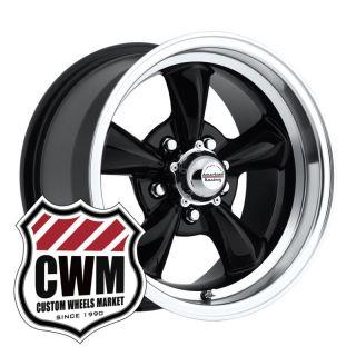 15x8 Black Wheels Rims 5x4 75 Lug Pattern for Chevy S10 Pickup 2WD