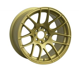 16 XXR 530 GOLD RIMS WHEELS 16x8.25 +0 4x100 MAZDA MIATA SCION XB BMW