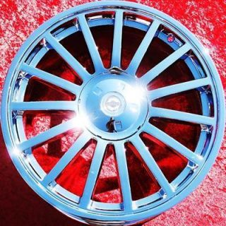 NEW OEM 18 19 CHRYSLER CROSSFIRE SRT6 CHROME WHEELS RIMS EXCHANGE 2249