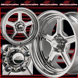 Billet Specialties Street Lite Wheels Polished Black 15x10