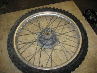 79 Yamaha TT500 TT 500 21 Front Wheel Rim