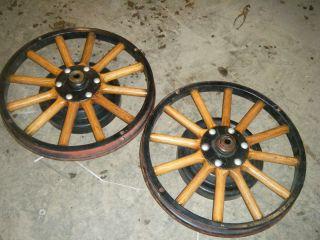 26 27 Model T Rear 21 Wood Wheels