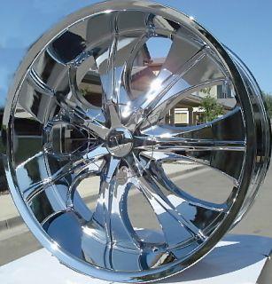 28 inch 725 Rims Tires Escalade Yukon Tahoe Sierra H3