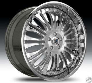 26 asanti 26 inch AF137 AF 137 Chrome Multi 2 Piece Rims Wheels Tires