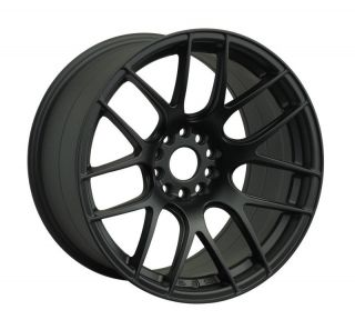 15 XXR 530 BLACK RIMS WHEELS 15x8.25 +0 4x114.3 AE86 COROLLA 240SX S13