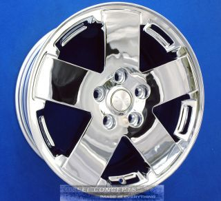 WRANGLER SAHARA 18 INCH CHROME WHEELS RIMS 9076 OE SET OF 4 WITH CAPS