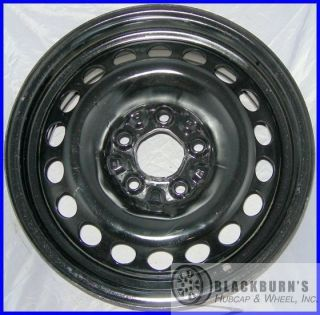 08 Chevy Malibu 15 Black Steel Take Off Wheel Factory Rim 8054
