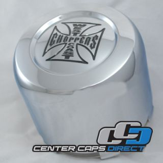 1001 29 Jesse James Wheels Chrome Center Cap