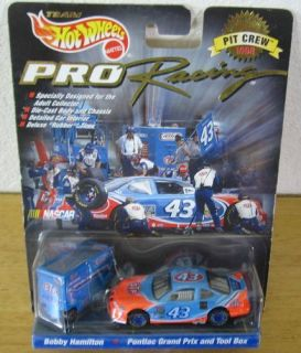 Pontiac Grand Prix Tool Box Hot Wheels Pro Racing Pit Crew New