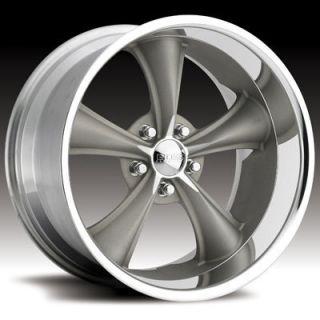 Boss Motorsports Style 338 Wheels Rims 20x8 5 5x4 5 28mm Gray