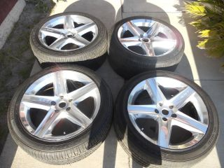 RARE Factory Jeep Grand Cherokee SRT 8 Wheels and Tires 27 18