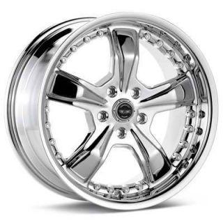 16 inch Chrome Razor Rims Wheels 16x7 5 5x100 Brand New