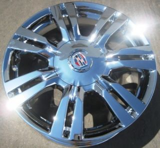 YOUR STOCK 4 NEW 18 FACTORY GM CADILLAC SRX CHROME WHEELS RIMS 2010 13