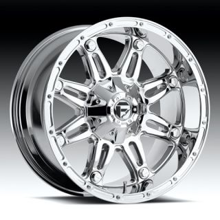 20 Wheels Rims Fuel Hostage Chrome Silverado Suburban