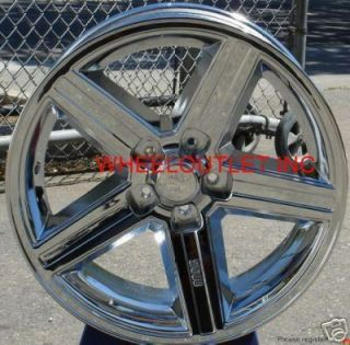 20 IROC Chrome Wheels Rims Tire Cutlass Chevy Camaro
