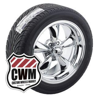 17x7 17x9 Chrome Rims Tires 215 50ZR17 275 40ZR17 for Chevy Monte