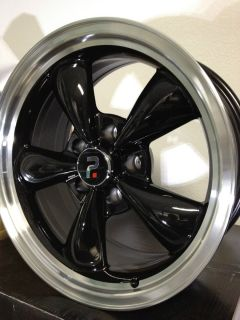 Black Ford Mustang Bullet Factory OE Wheels Rims 17x8 5x4.5 +30 #3448