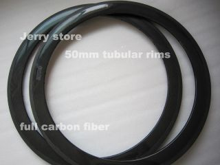 super light weight carbon fiber bike rims 50mm tubular T700 CARBON
