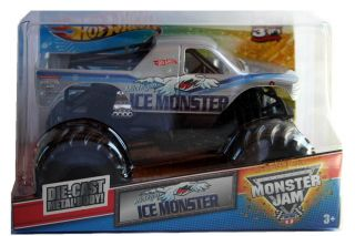 2012 Hot Wheels Monster Jam Monster Truck ~30TH ANNIV.~ Michigan Ice