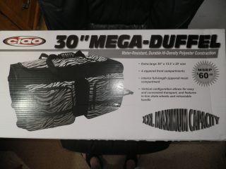 Duffle Bag on Wheels 30 Extra Large Size Animal Print