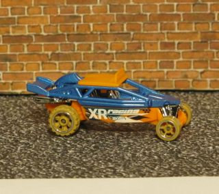 HOT WHEELS CUSTOM DUNE IT UP BUGGY SAND RAIL WITH MUD TIRES GEM MINT