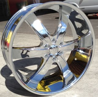 24 inch B5 Rims and Tires Yukon Escalade Tahoe Sierra Silverado