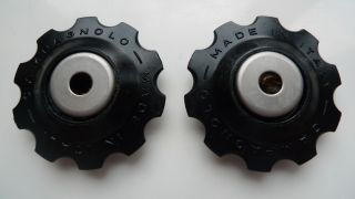 Campagnolo Super Record Rear Derailleur Jockey Wheels Complete