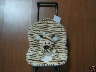 Tiger Bag Kids Luggage with Wheels Plush Tiger