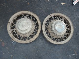 1932 33 34 35 36 International Truck Wire Wheels RARE