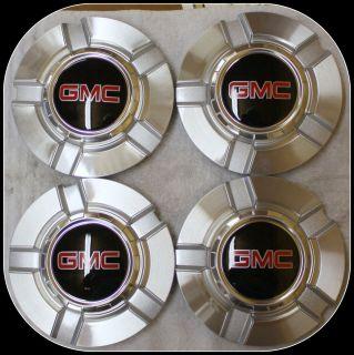 Sierra Yukon Center Caps Set of 4 for 18 in or 20 in Z71 Wheels Rims
