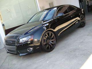 Infiniti G35 G37 M37 M35 M45 Wheels/Rims and Tires HR4 Matte Black