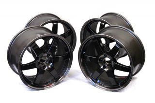 Volk Racing TE37 SL Wheels Rims 15x8 0 Miata Civic Integra