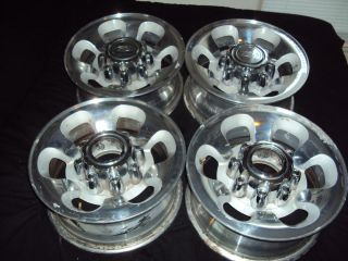 Ford F250 F350 SD 8 lug factory OEM stock polished rims wheels 99 04