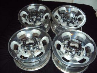 Ford F250 F350 SD 8 lug factory OEM stock polished rims wheels 99 04