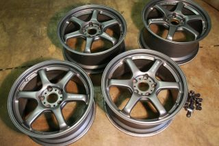 Rays Engineering GC 06D 17 forged rims Honda S2000 full set of wheels