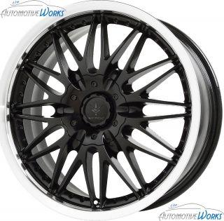 Verde Regency 5x115 5x100 38mm Gloss Black Wheels Rims inch 20