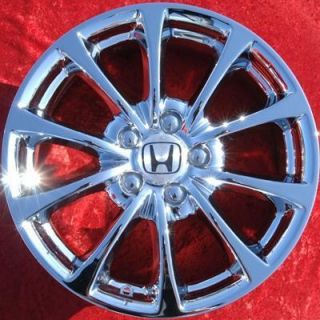 of 4 New 17 Honda S2000 CR Factory Chrome Wheels Rims 63904