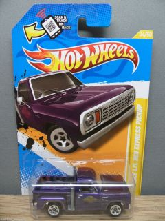 2012 HOT WHEELS 1/64 NEW MODELS 1978 DODGE LIL RED EXPRESS PICKUP # 34